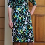 M6163 Faux Wrap Dress