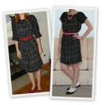 Butterick 5356 Before and After Dress