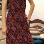 Butterick 5395 Paisley Dress