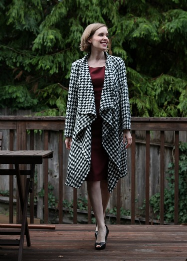 Gratuitous photo of my Butterick 6244 jacket!
