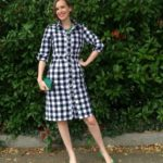 6696 Checkerboard Shirtdress