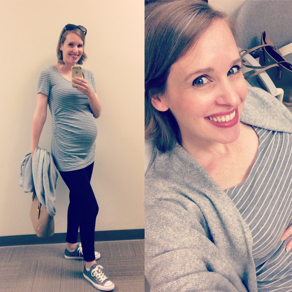McCall's Patterns 6886 Maternity Tee